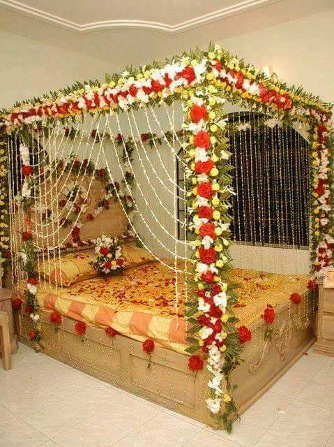 1st Night Bedroom Decoration