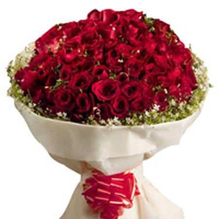 100 rose