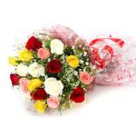20 mix colour rose