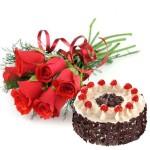 flower n cake Combo