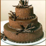 3 tire wedding cake (5kg)