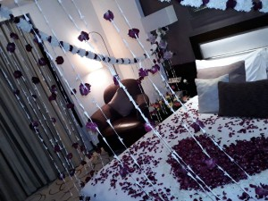 1st night bedroom decoration