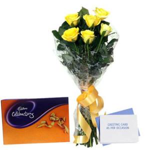 Flower N Greeting Card