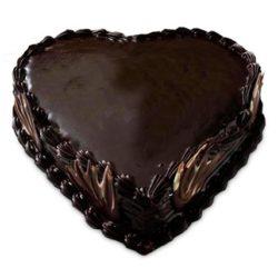 Heart Shape Truffle Cake