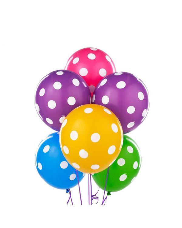 polka-dot-balloons-tropical-colors