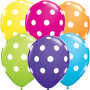 polka-dot-balloonstropical-colors
